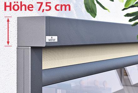 Senkrecht-Markisen verleihen Fassaden eine moderne Optik – Das sind die Vorteile Image 2
