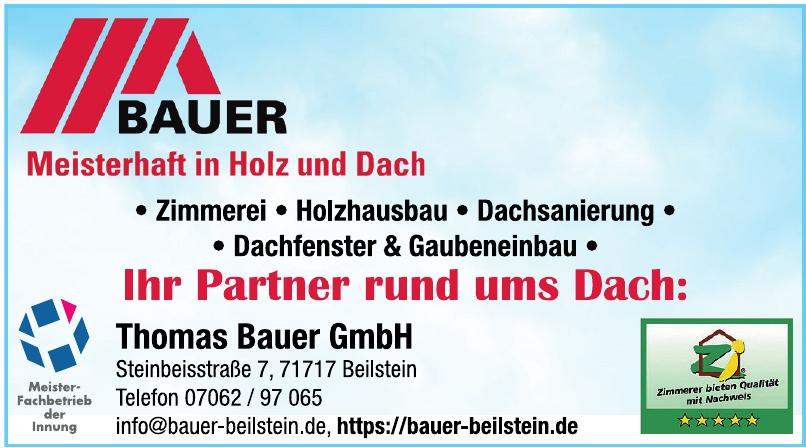 Thomas Bauer GmbH