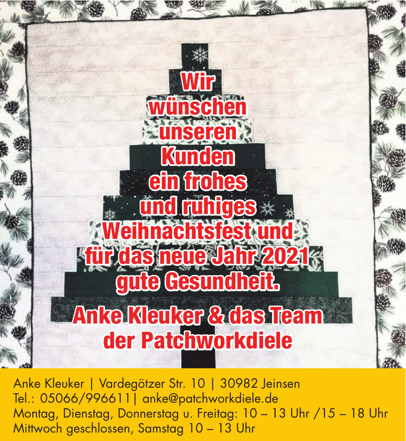 Patchworkdiele