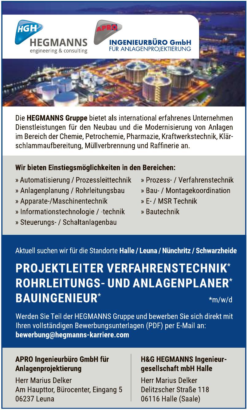 APRO Ingenieurbüro GmbH für Anlagenprojektierung