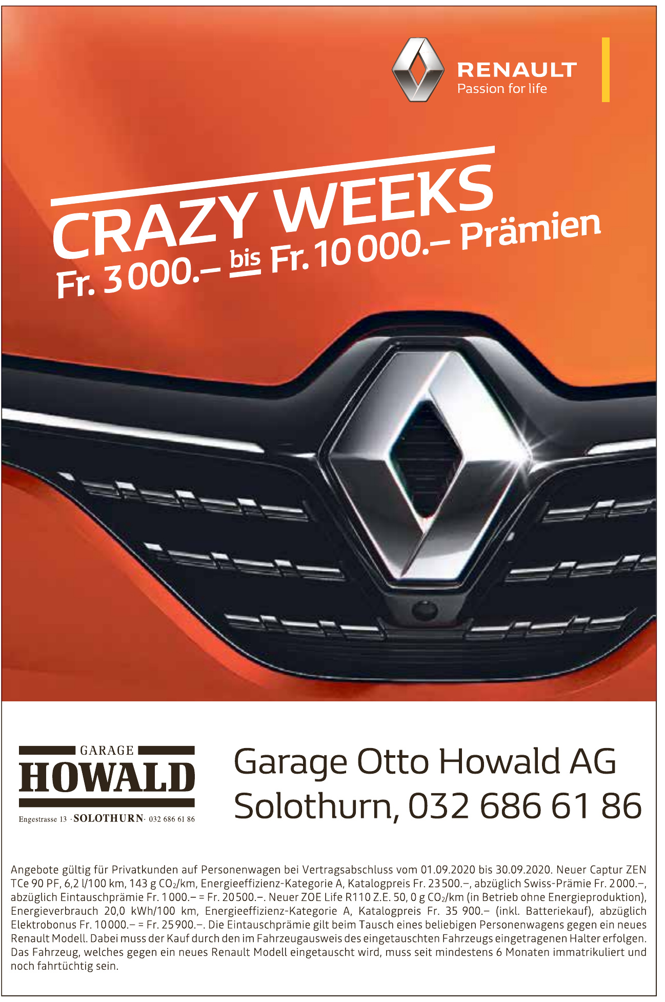 Garage Otto Howald AG