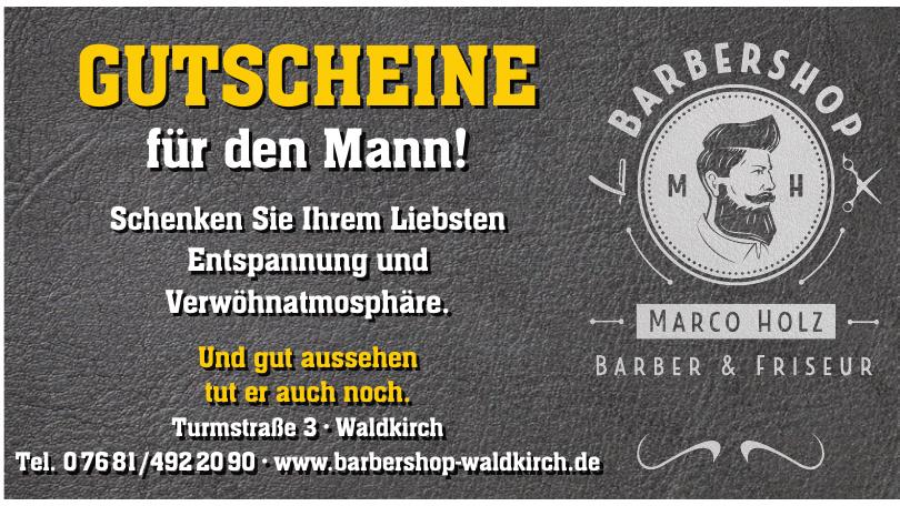 Barbershop Marco Holz