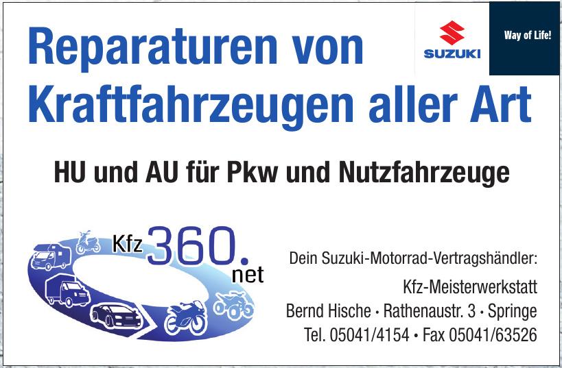 Kfz-Meisterwerkstatt Bernd Hische