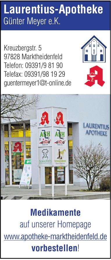 Laurentius-Apotheke Günter Meyer e.K.