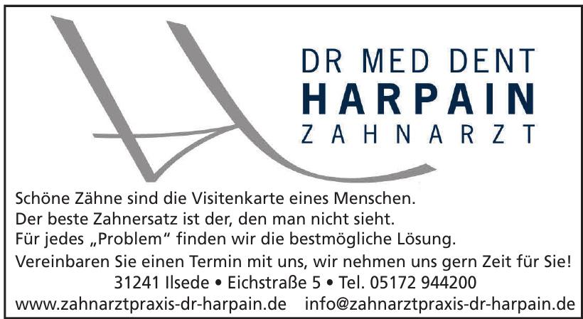 Zahnarztpraxis Dr Med Dent Harpain Zahnarzt