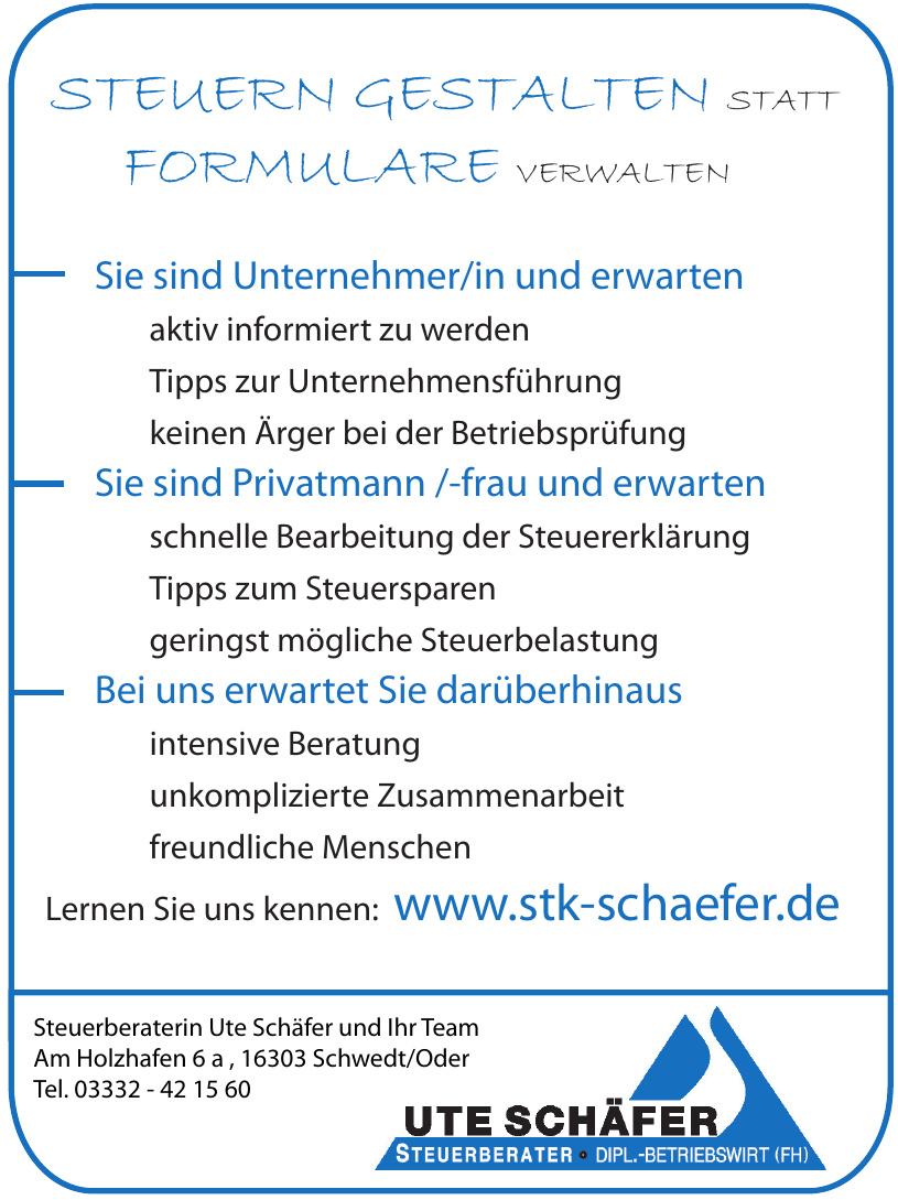 Steuerberaterin Ute Schäfer und Ihr Team