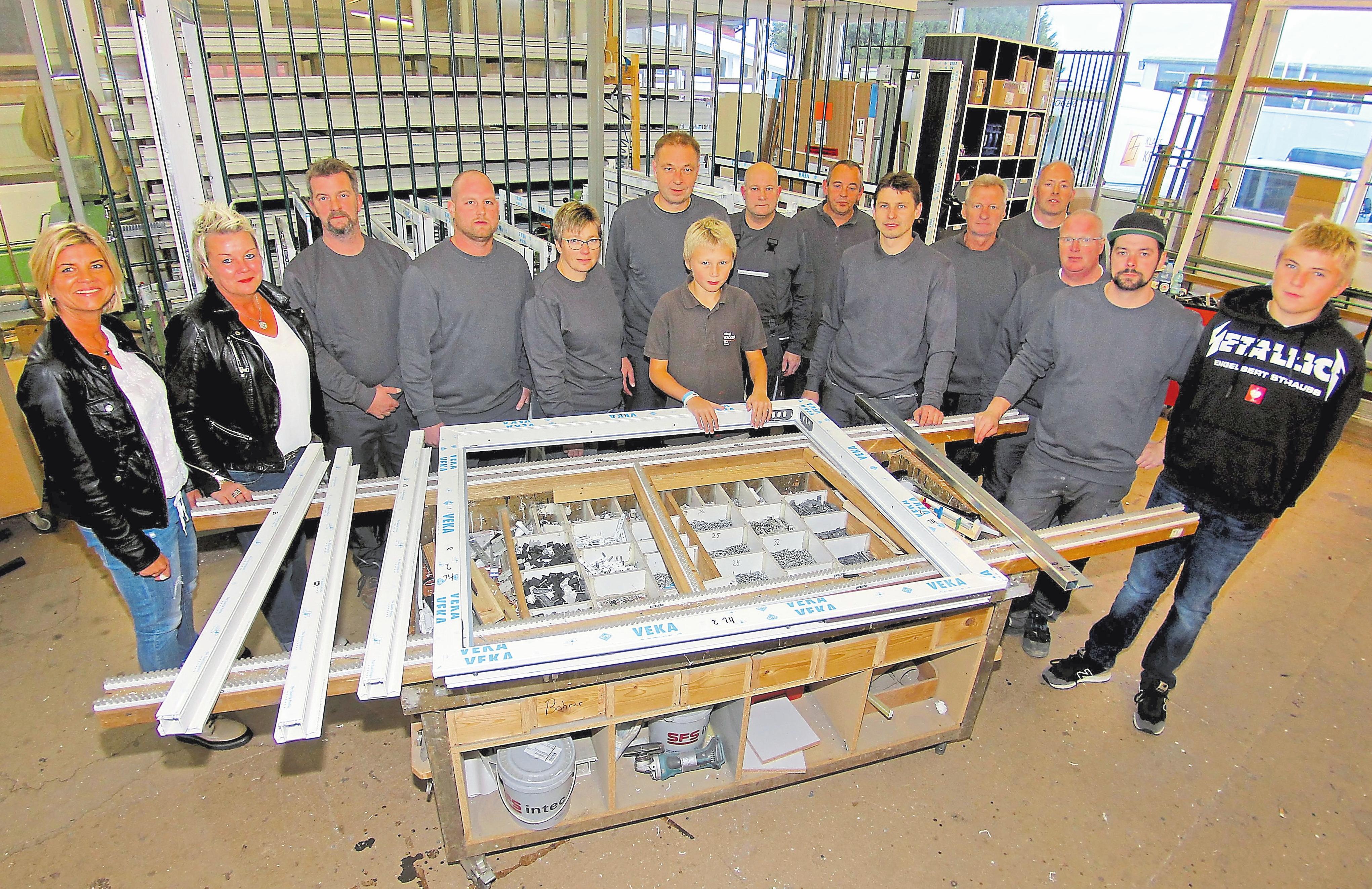 Der heute im Drensteinfurter Gewerbegebiet Viehfeld ansässige Betrieb wurde bereits mehrfach erweitert. Aktuell beschäftigt Klaus Kröger 13 Mitarbeiter.