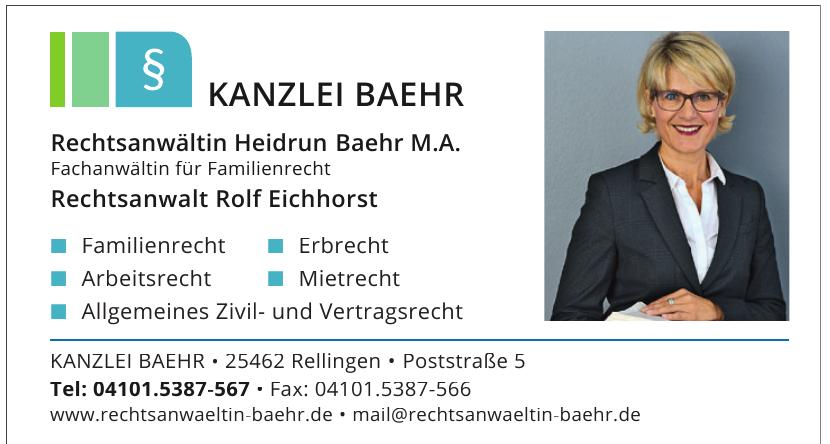 Kanzlei Baehr