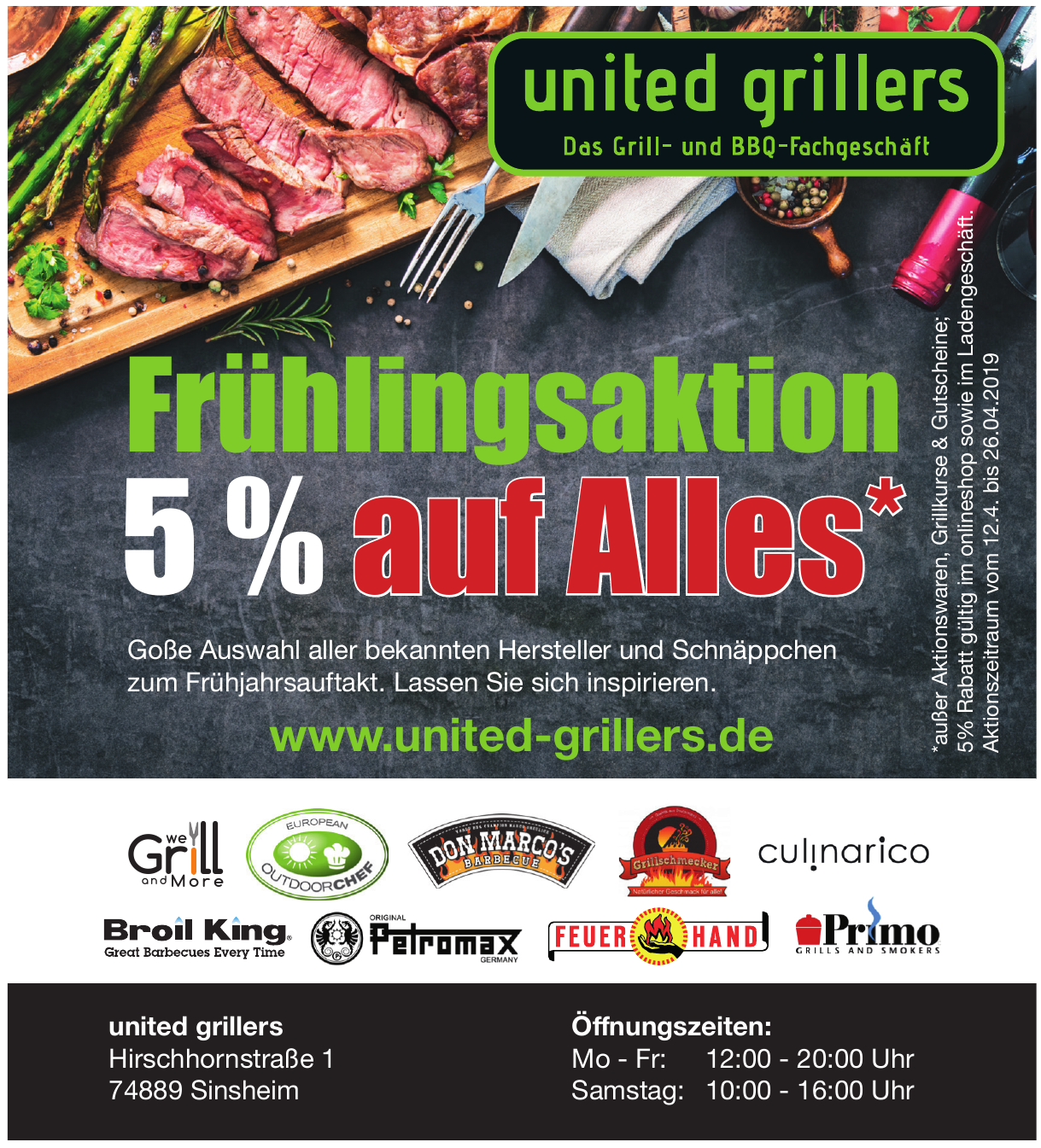 united grillers