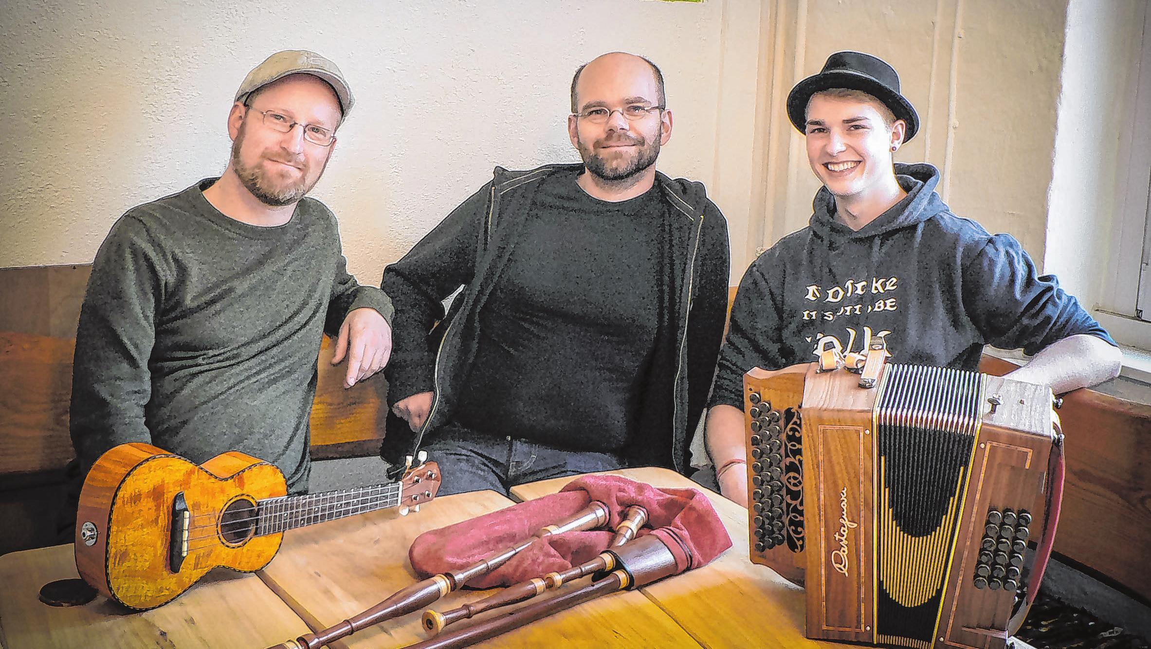 Spielt in Lebuser Kirche - die Familie Gerstenberg Foto: promo