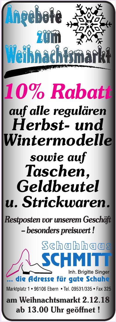 Schuhhaus Schmitt