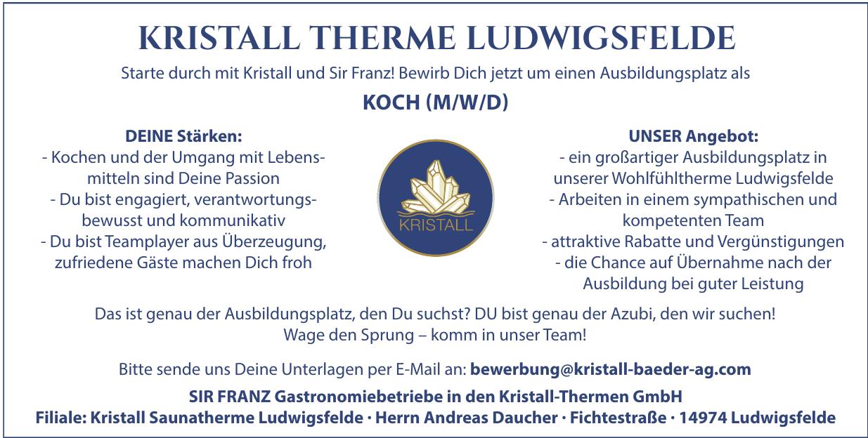 SIR FRANZ Gastronomiebetriebe in den Kristall-Thermen GmbH