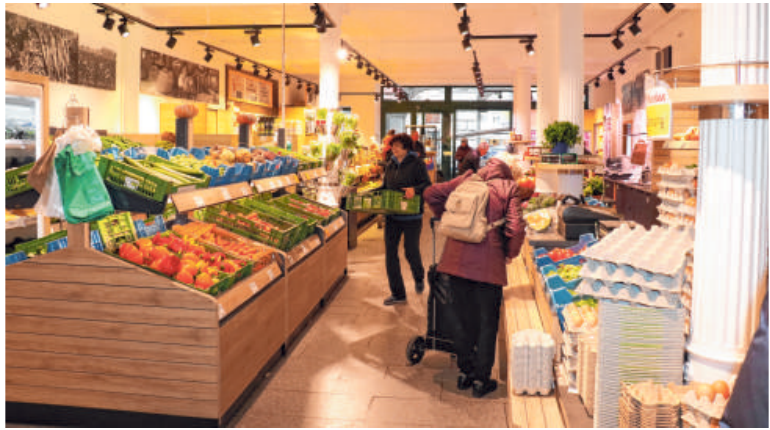 Der Bauernmarkt ist regulär für Sie geöffnet. FOTO: LANER