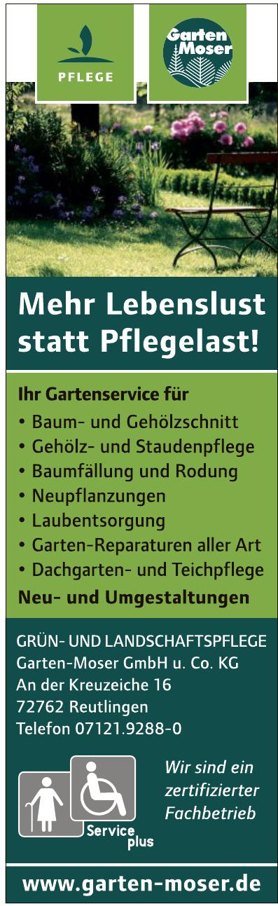 Garten- und Landschaftsbau Garten-Moser GmbH u. Co. KG