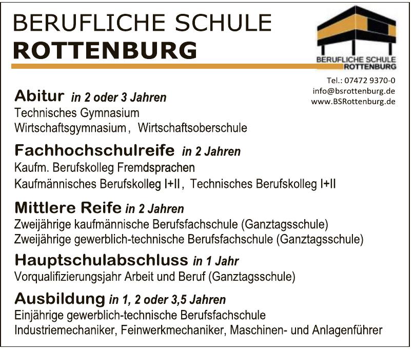 Berufliche Schule Rottenburg