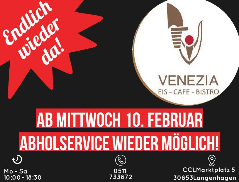 Abholservice Eiscafe Venezia