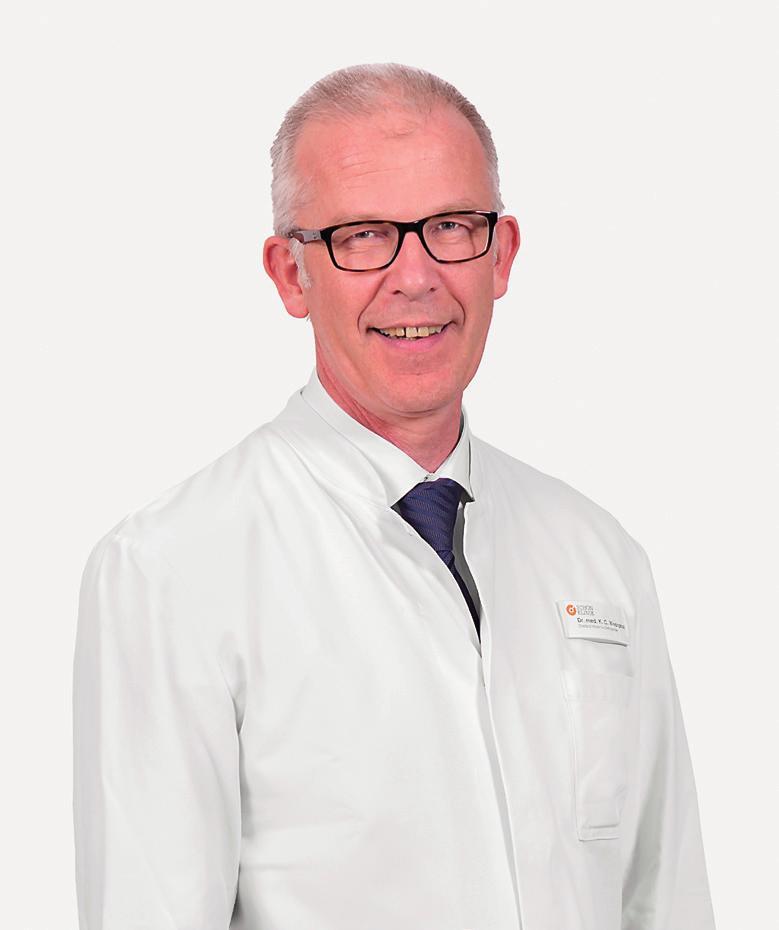 Dr. Karl Christian Westphal Chefarzt der Klinik für Orthopädie und Unfallchirurgie an der Schön Klinik Neustadt
