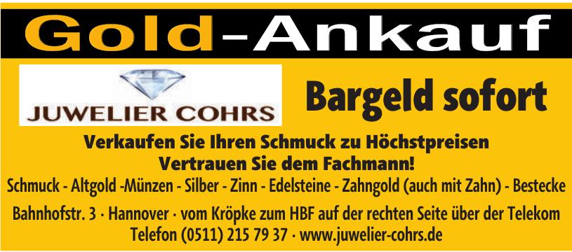 Juwelier Cohrs
