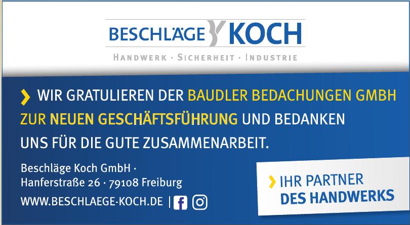 Beschlägen Koch GmbH