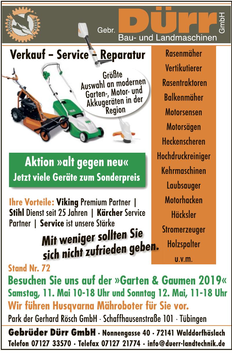 Gebrüder Dürr GmbH