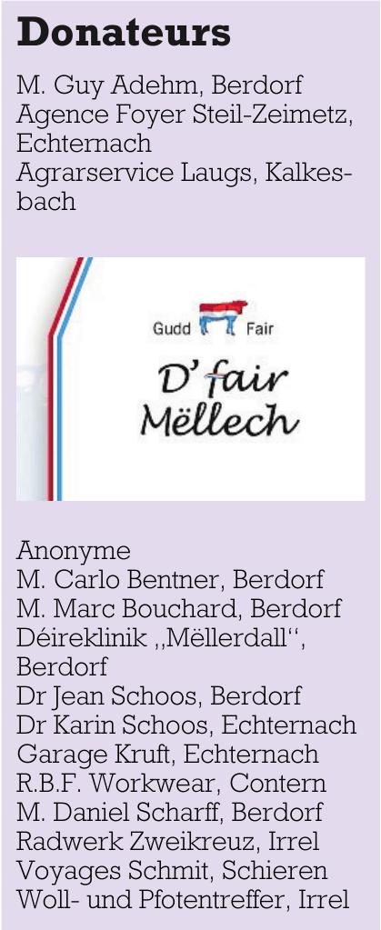 D'fair Mëllech