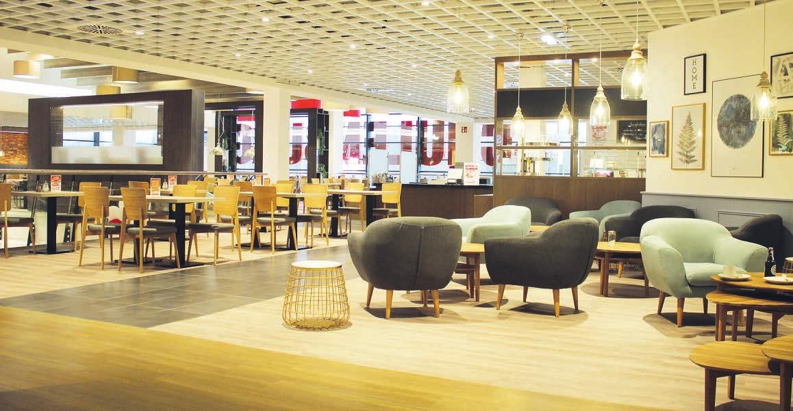 Das neue Restaurant bei Möbel Schulenburg in Halstenbek lädt zum Genießen und Verweilen ein Foto: Möbel Schulenburg