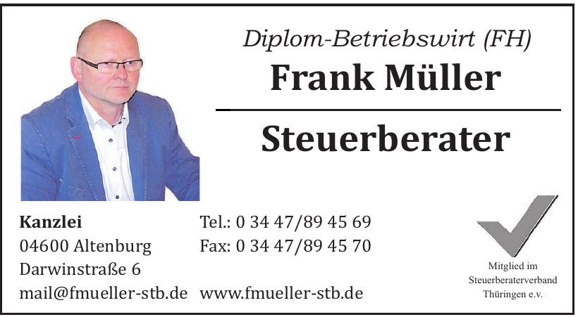 Frank Müller Steuerberater