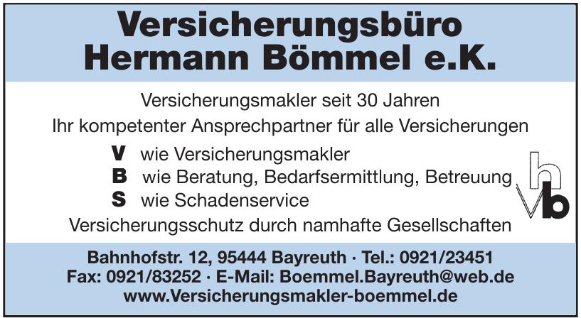 Versicherungsbüro Hermann Bömmel e.K.