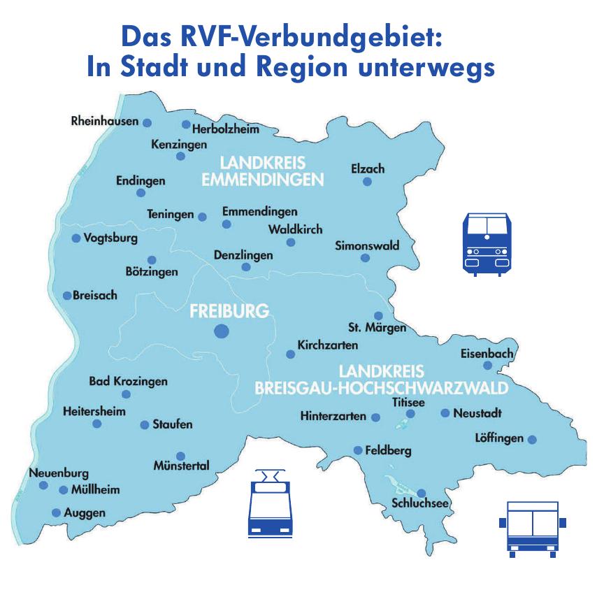 Der Regio-Verkehrsverbund sichert die Mobilität in der Region und darüber hinaus Image 1