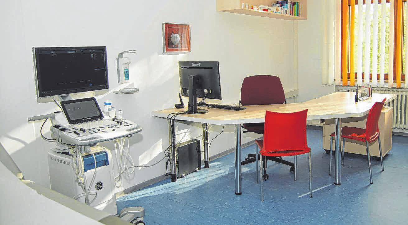 Die Praxisräume wurden neu renoviert. FOTO: SON