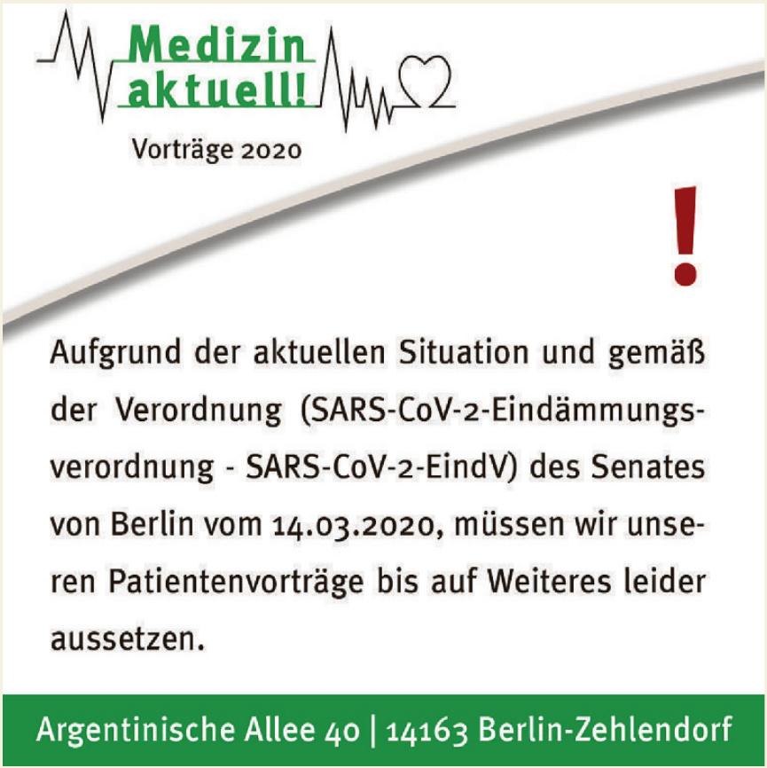 Medizin aktuell!