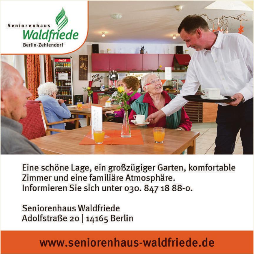 Seniorenhaus Waldfriede