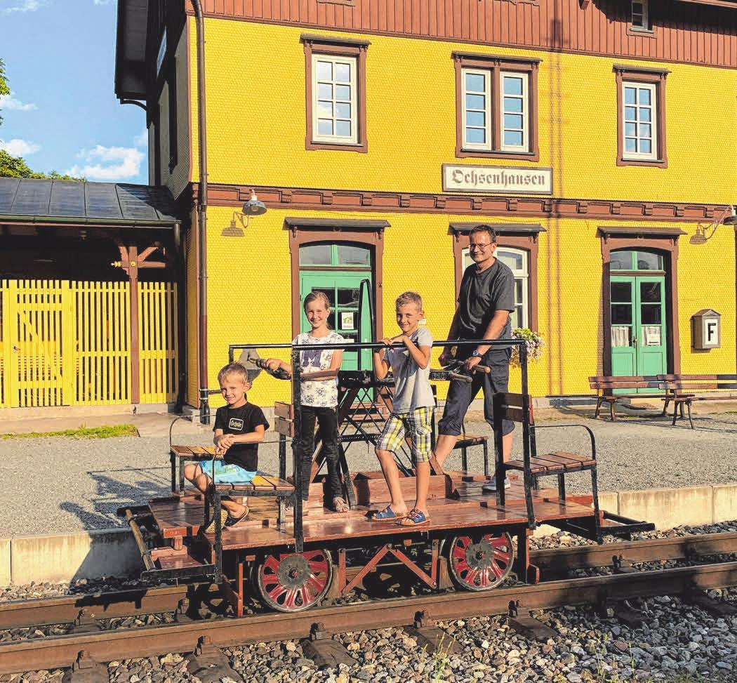 Eisenbahnerlebnis für die ganze Familie Image 1