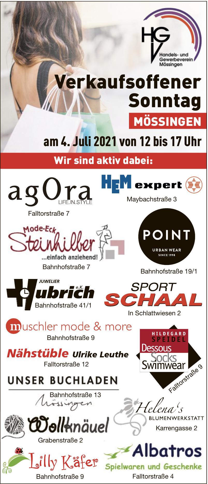 Verkaufsoffener Sonntag Mössingen