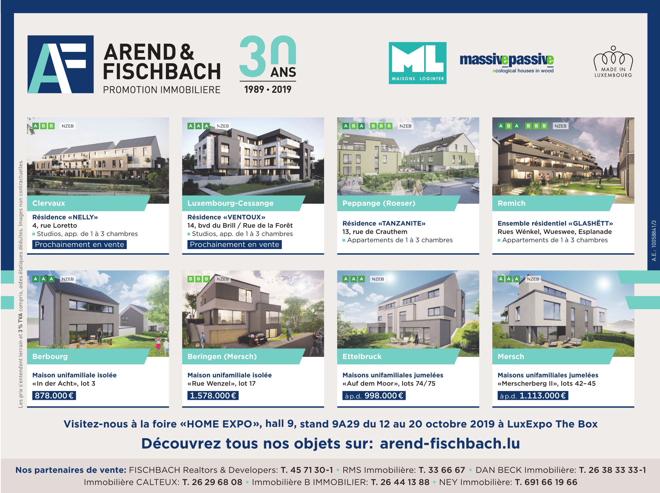Arend & Fischbach - Promotion Immobiliere