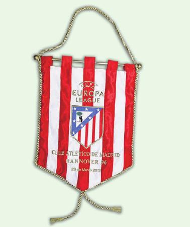 2012 UNTER DEN LETZTEN ACHT: In der Europa League 2011/2012 war erst gegen Atlético Madrid Schluss.