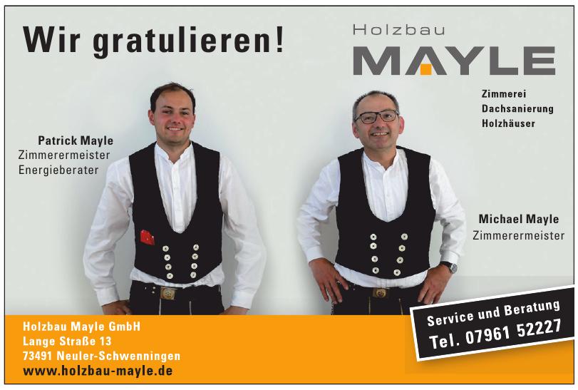 Holzbau Mayle GmbH