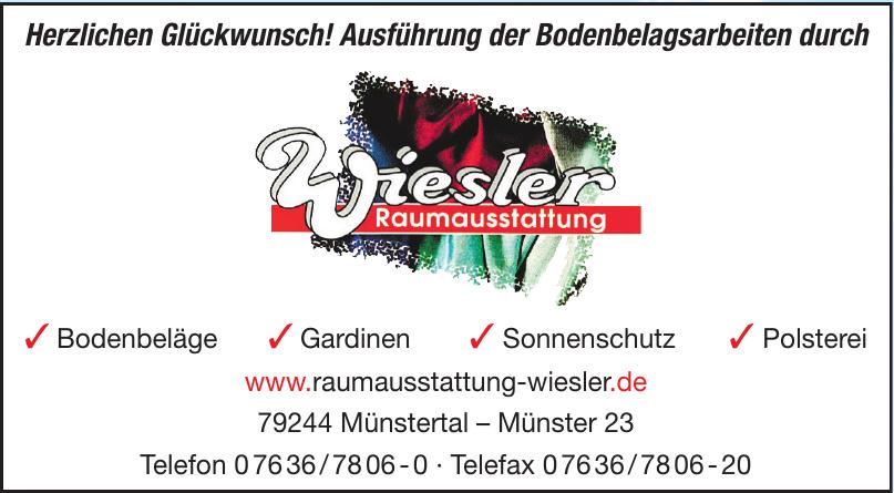 Raumausstattung Wiesler