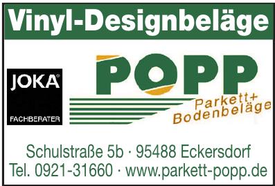Popp Parkett + Bodenbeläge