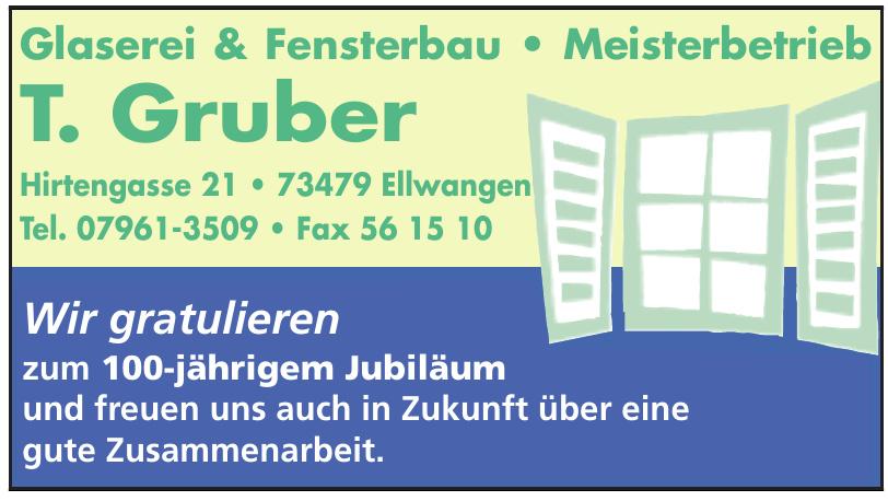 Glaserei & Fensterbau T. Gruber