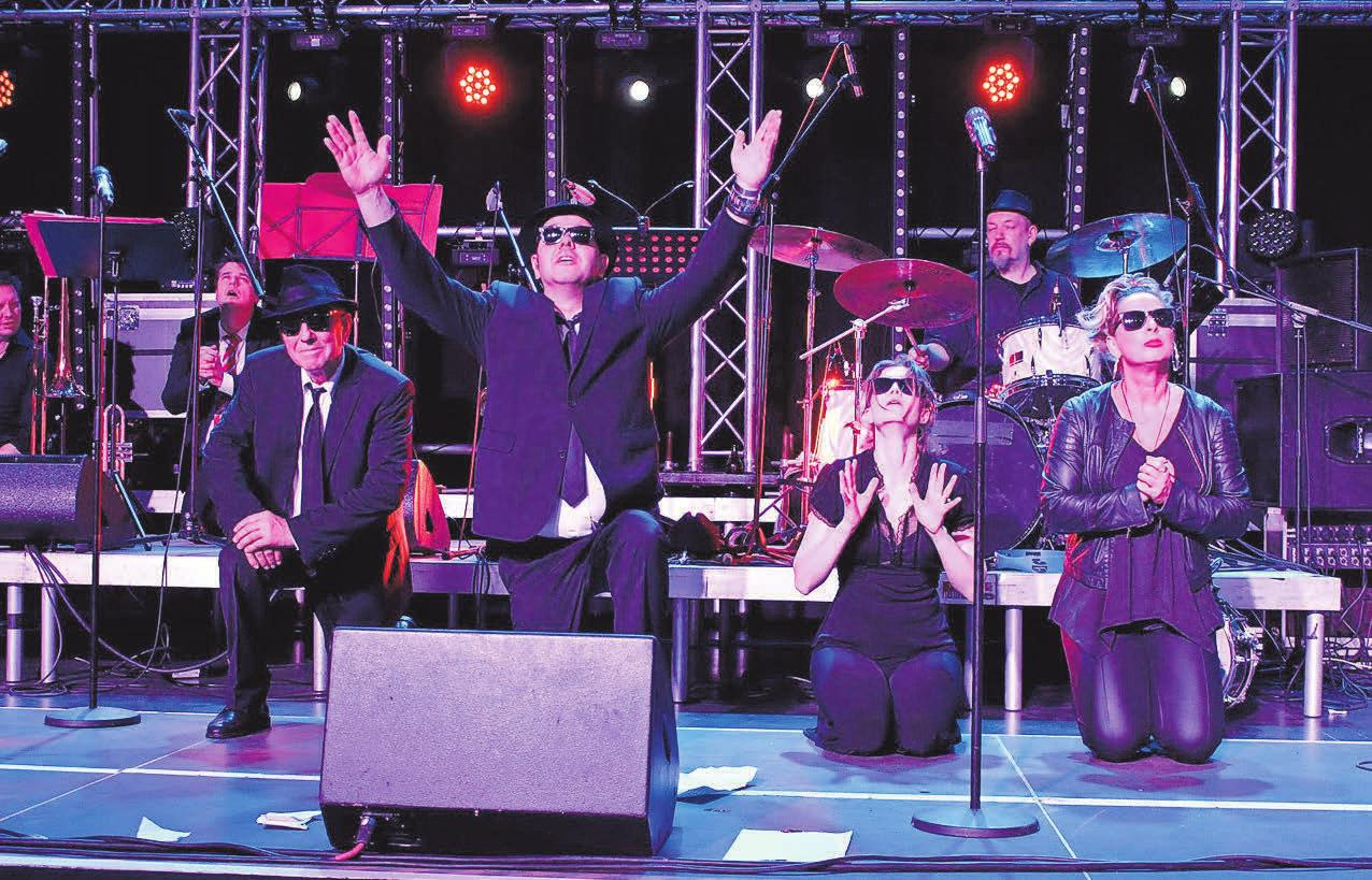 Cool, cooler, Blues Brothers: Eine Tributshow gibt es auf dem Burgdorfer Oktobermarkt zu erleben.
