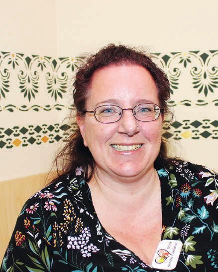 Engagierte Vereinsvorsitzende: Anne Thaker Fotos: kh