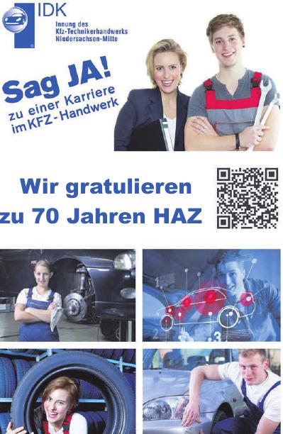 Innung des Kraftfahrzeugtechnikerhandwerks (IDK) Niedersachsen-Mitte