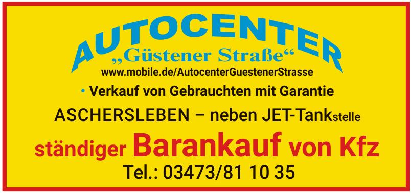 """Autocenter """"Güstener Straße"""""""
