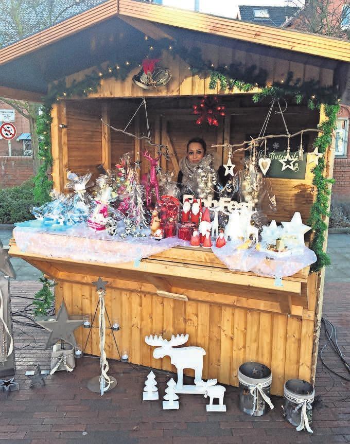 Der Badenstedter Weihnachtsmarkt bietet mit seinen Ständen für jeden etwas.