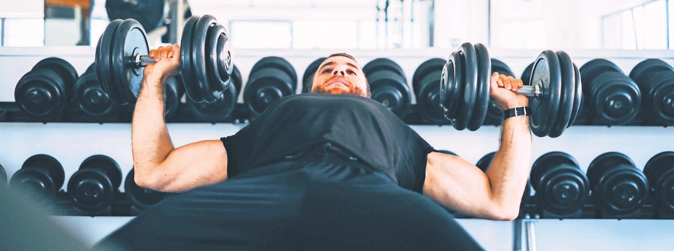 Immer in Action: Bei Tim macht Sport wird im modernen Gerätepark unter Anleitung von lizensierten Trainern trainiert.
