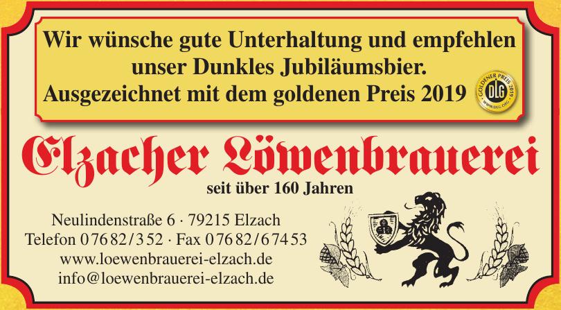 Elzacher Löwenbrauerei