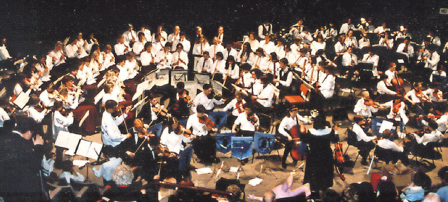 Besinnliche Weihnachten, das Blockflötenorchester Hannover