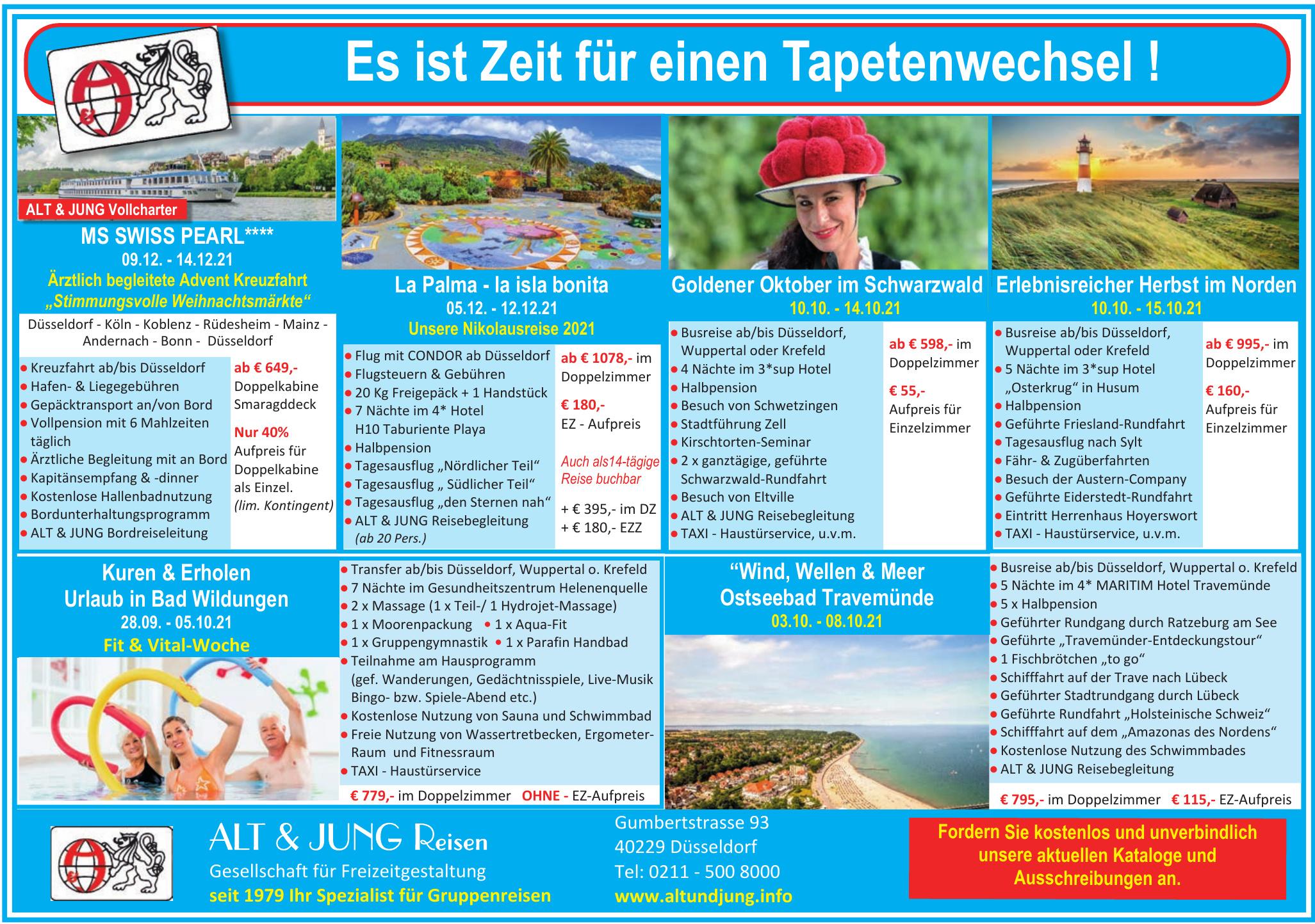 Alt & Jung Reisen