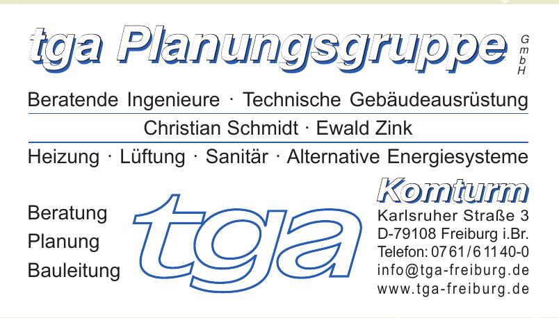 tga Planungsgruppe GmbH